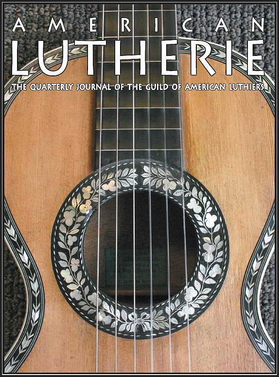 """American Lutherie"" Journal Cover"